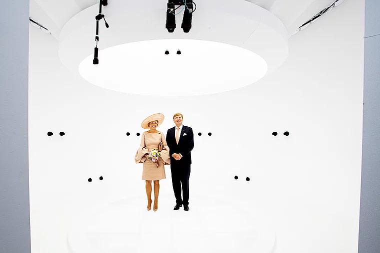The Telegraph King Willem-Alexander & of The Netherlands & Queen Maxima at Volucap Studio
