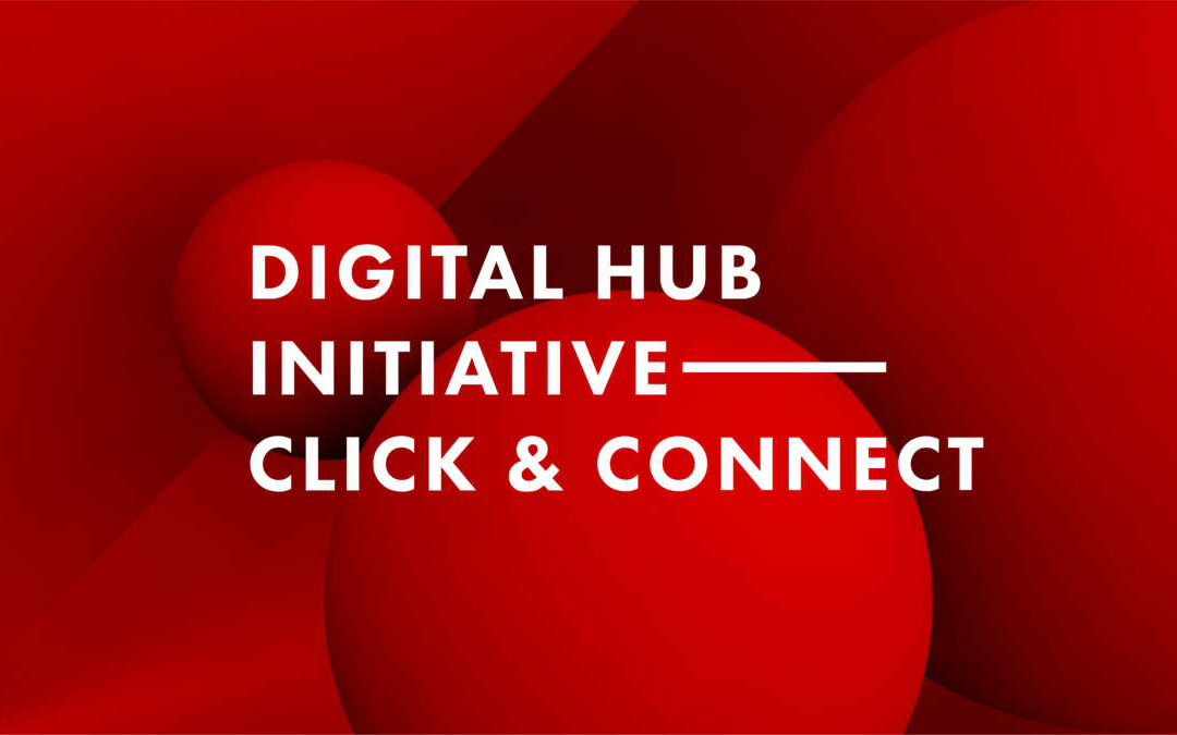 Logo of event Click & Connect by Digital Hub Initiative